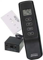Skytech 1001t Lcd Four Button Fireplace Remote Control On