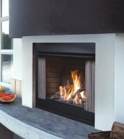 kingsman ofp42ns outdoor gas fireplace vent free